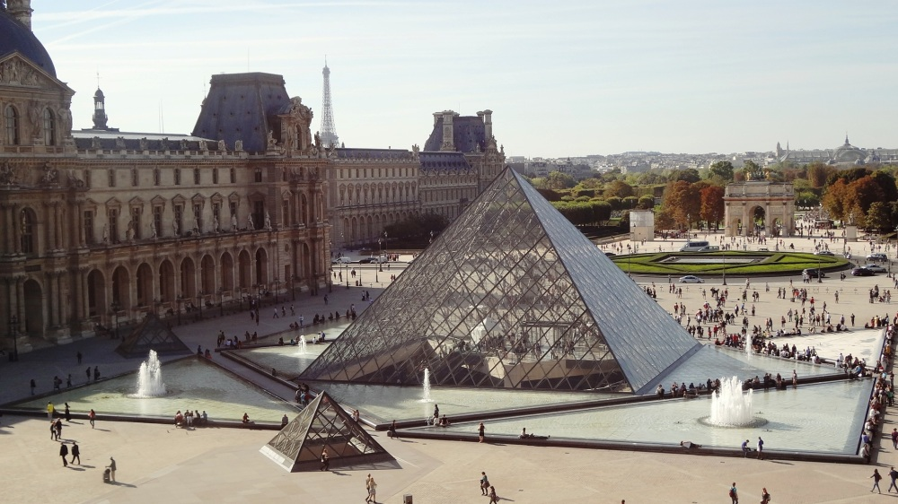 The Louvre Museum - Exterior view